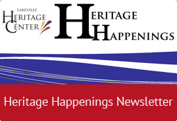 Heritage Happenings Newsletter