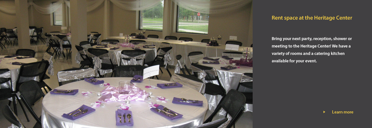 tables decorated for a fancy event